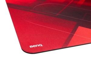 BenQ ZOWIE G-SR-SE Red Esports mousepads upclose