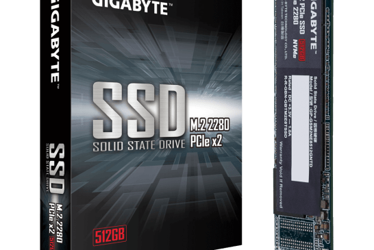The 512 GB GIGABYTE M.2 SSD Revealed!