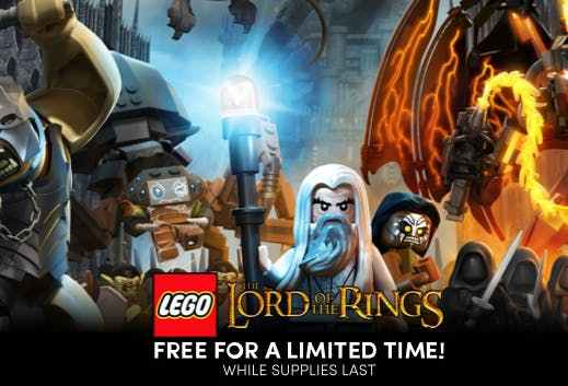 The LEGO Lord of the Rings Game - How To Get It FREE!