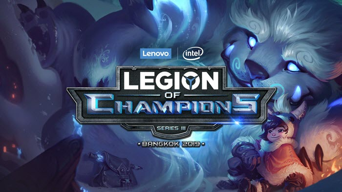 Lenovo + Intel Kicks Off Legion of Champions III 2019 Finals!