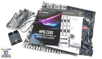 MSI MPG Z390 Gaming Pro Carbon box contents