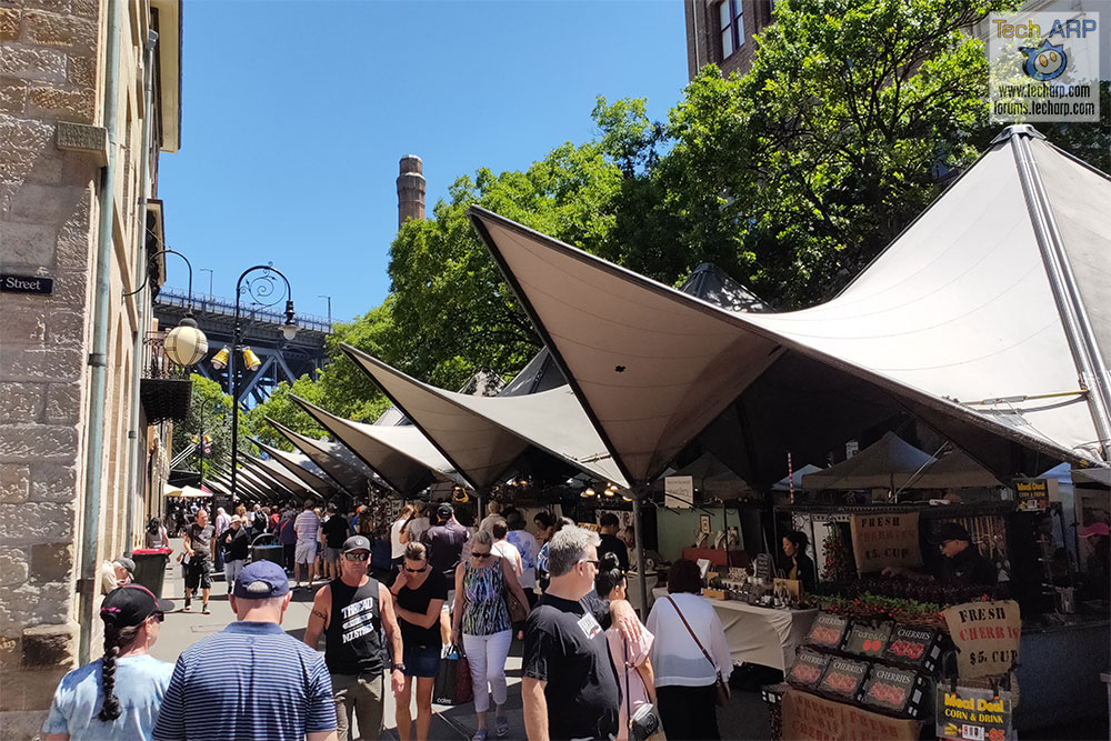OPPO R17 Pro Photos Of Sydney - The Rocks Market