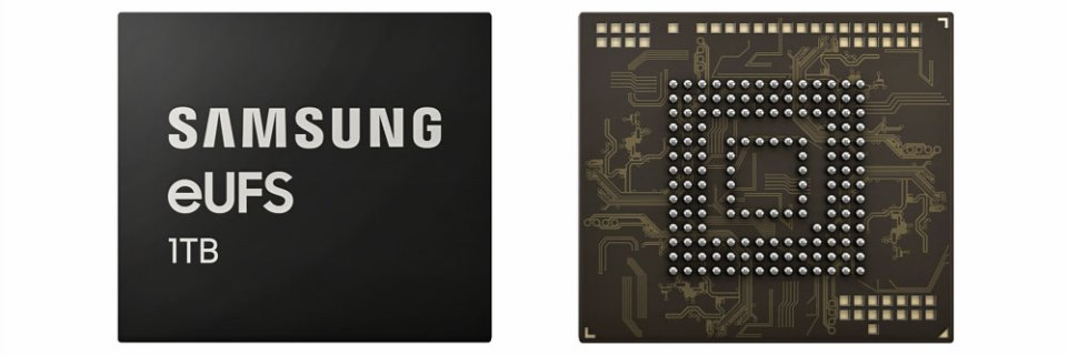 The 1TB Samsung eUFS Chip For Smartphones Revealed!