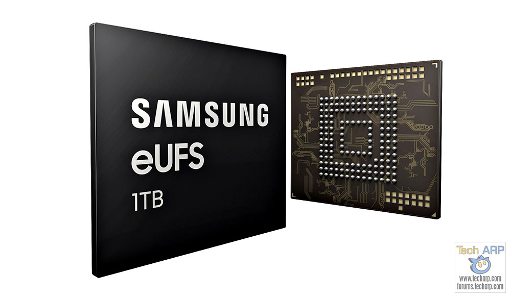 1TB Samsung eUFS Chip For Smartphone Storage Revealed!