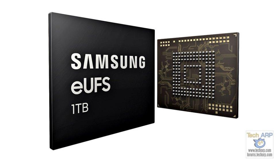 1TB Samsung eUFS Chip For Smartphone Storage Revealed!