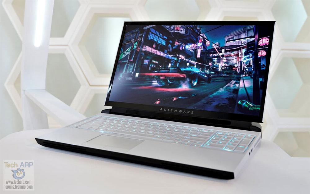 Alienware Shows Off 2019 Area-51m with Legend Design!