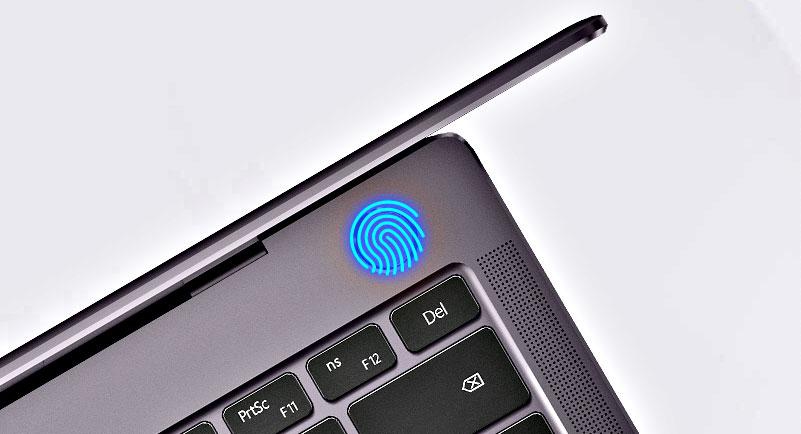 HUAWEI MateBook X Pro fingerprint sensor