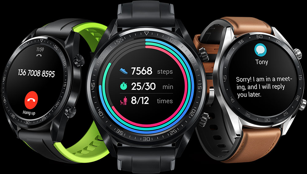 HUAWEI Watch GT notifications