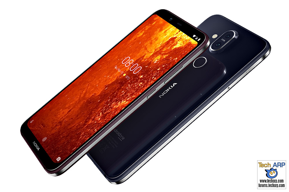 Nokia 8.1 smartphone