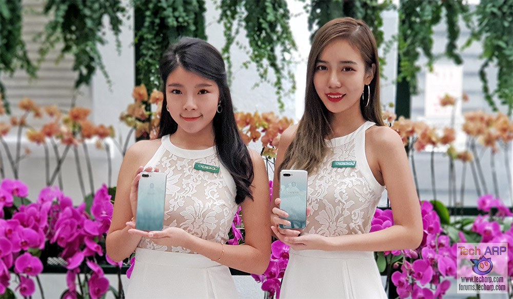 The OPPO F9 Jade Green Hands-On Preview!