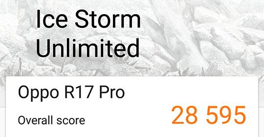 OPPO R17 Pro 3DMark results