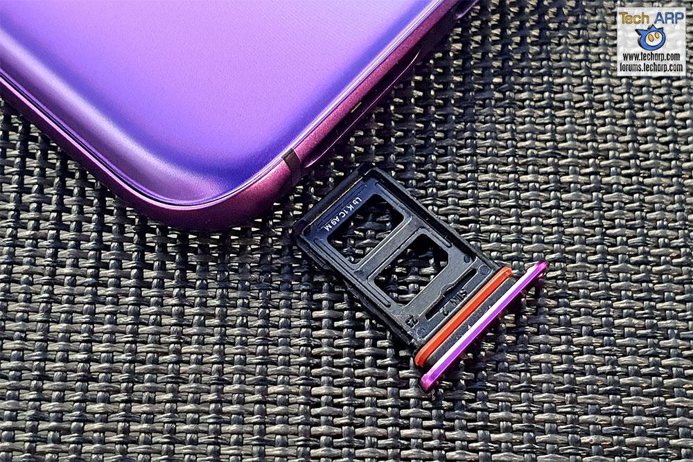 OPPO R17 Pro SIM tray