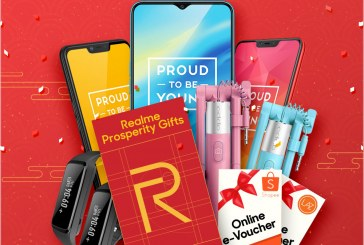 Slash Your Realme Angpau For Free Devices + Other Gifts!