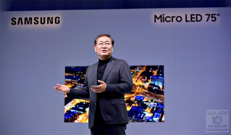 Samsung Bezel-less Micro LED Displays Revealed!