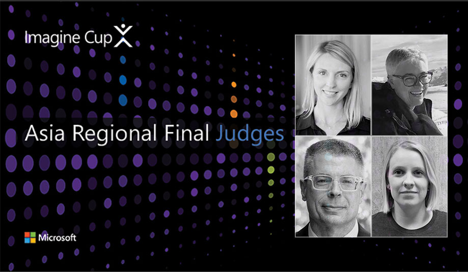 The 2019 Imagine Cup Asia Regional Final Judges Revealed!