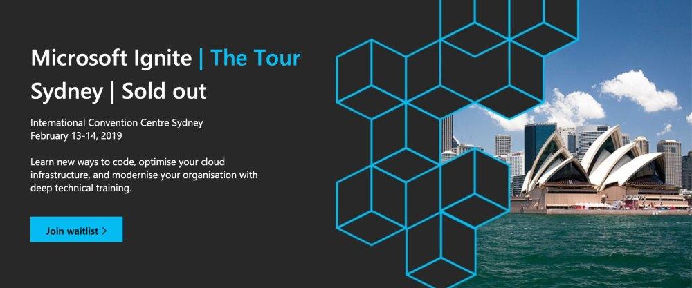 The 2019 Microsoft Ignite - A Quick Tour!