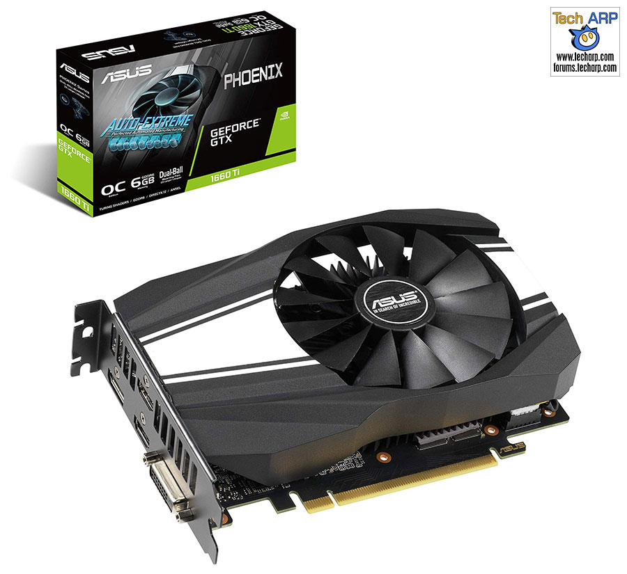 ASUS GeForce GTX 1660 Ti Phoenix Fan OC