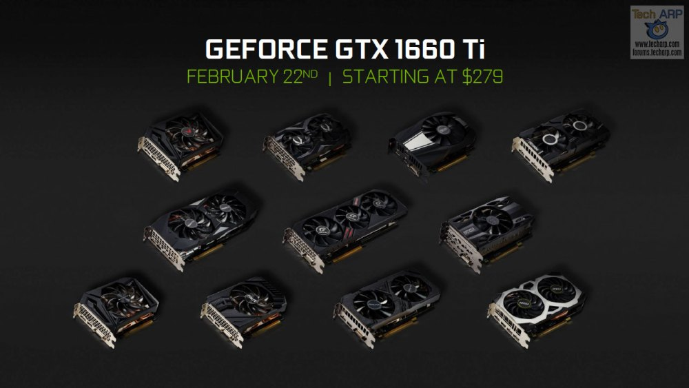 The Official NVIDIA GeForce GTX 1660 Ti Tech Briefing