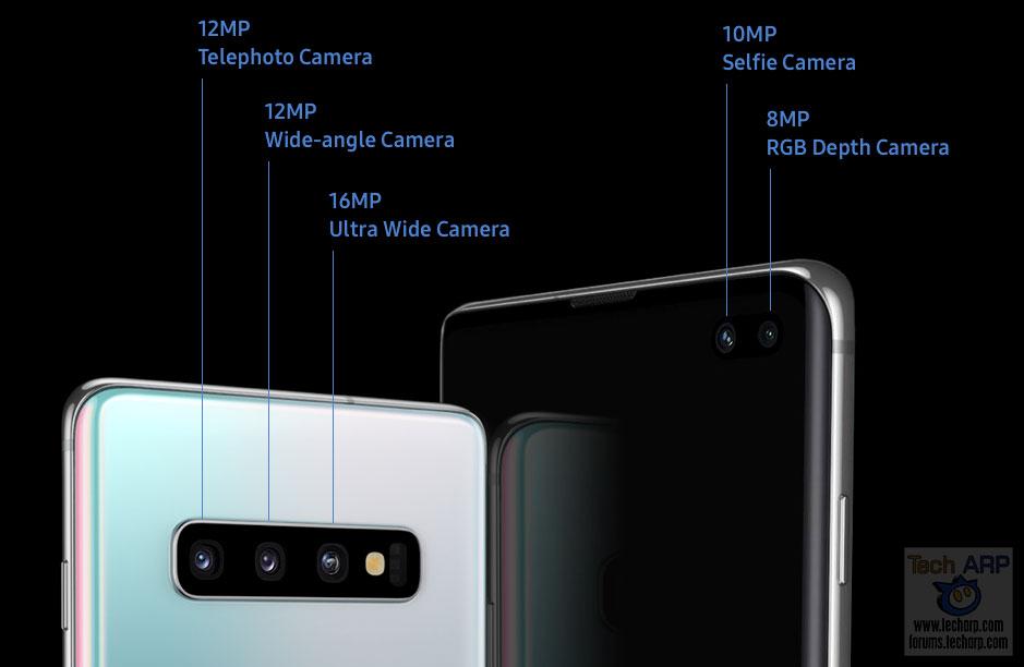 Samsung Galaxy S10 camera types
