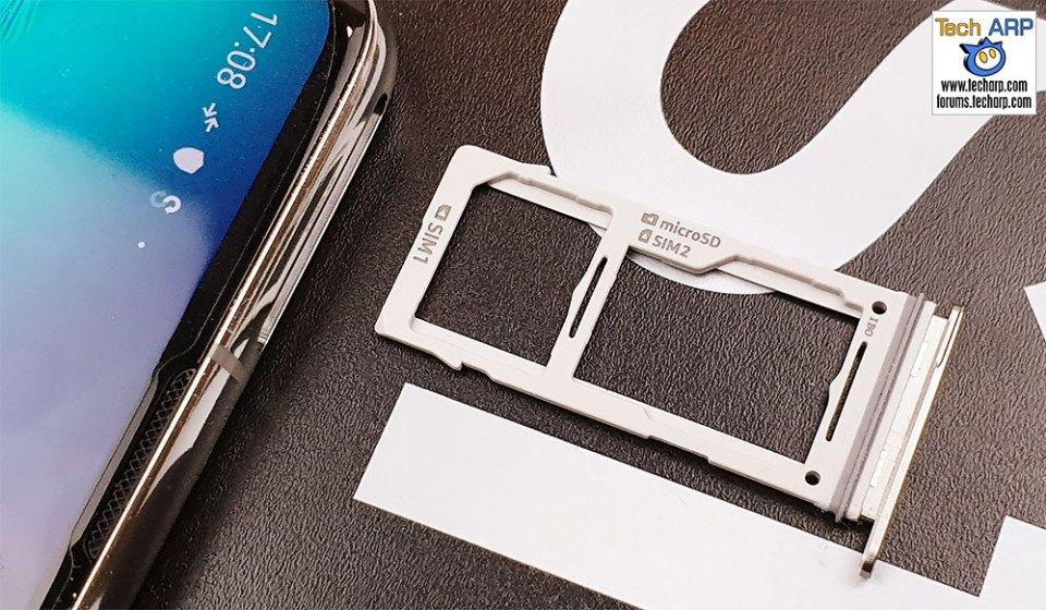 Samsung Galaxy S10 hybrid SIM