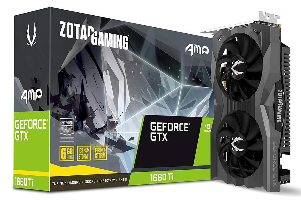 ZOTAC GeForce GTX 1660 Ti AMP