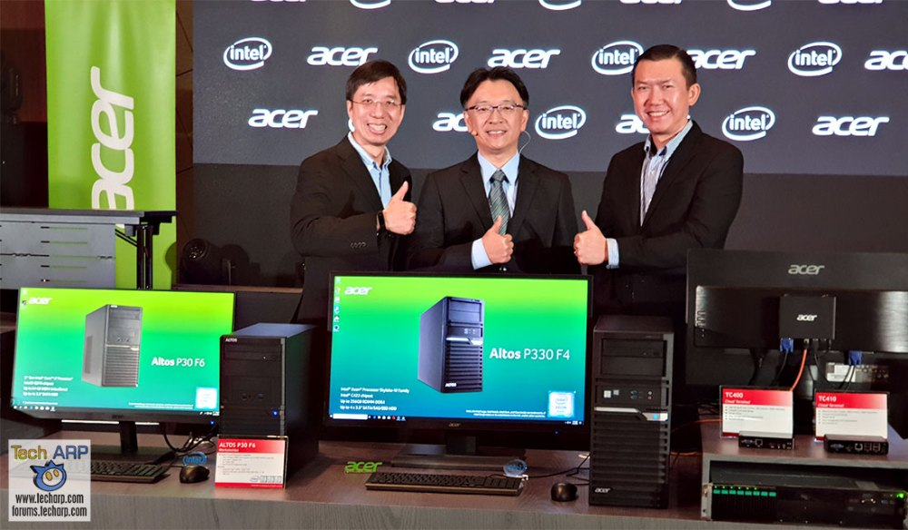 The 2019 Acer Altos Product Showcase + Demonstration!