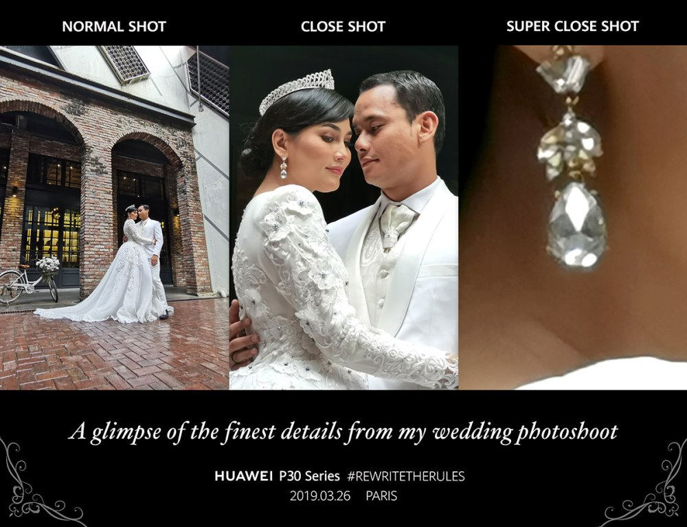 Fasha Sandha and Aidil Aziz Wedding Photo