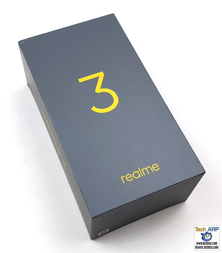 Realme 3 box