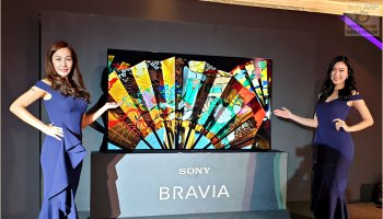 The Sony BRAVIA A9G Premium 4K HDR OLED TV Preview! - Tech ARP