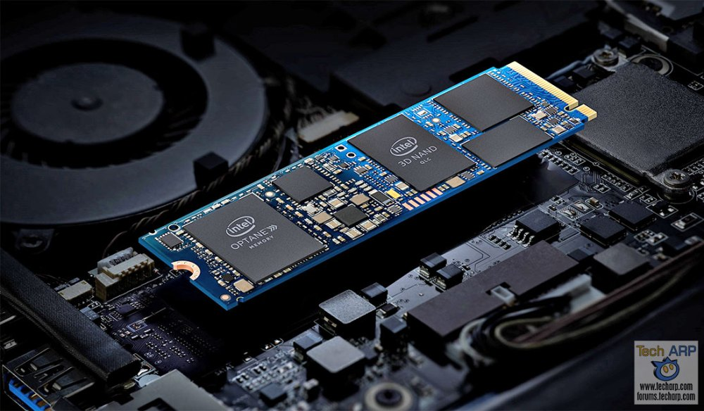 Intel Optane Memory H10 With QLC NAND Revealed!