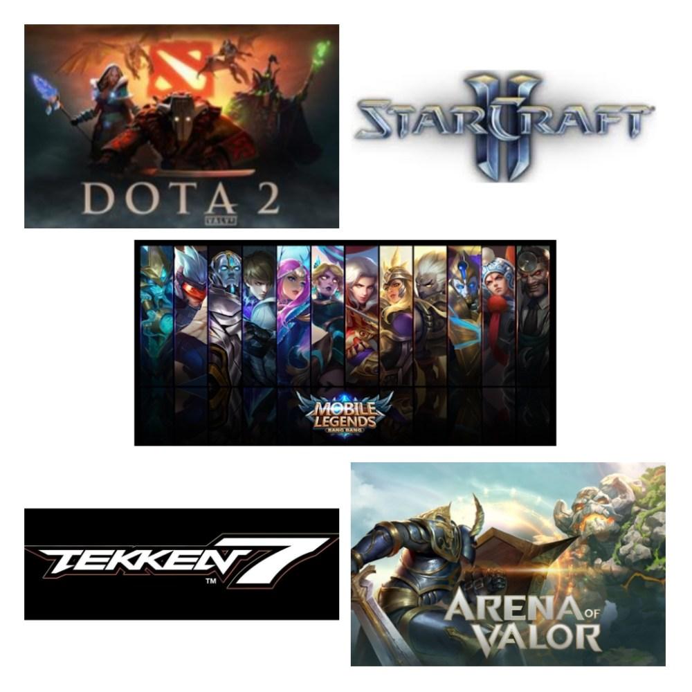 SEA Games eSports Titles