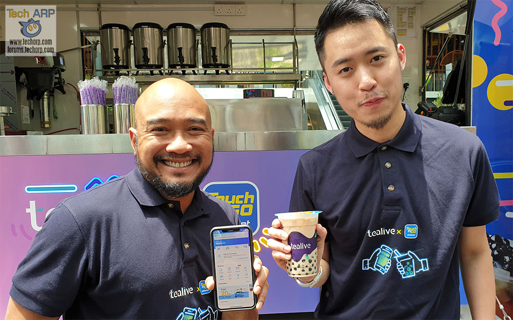 Tealive To Offer Great Deals For Touch 'n Go eWallet Users!
