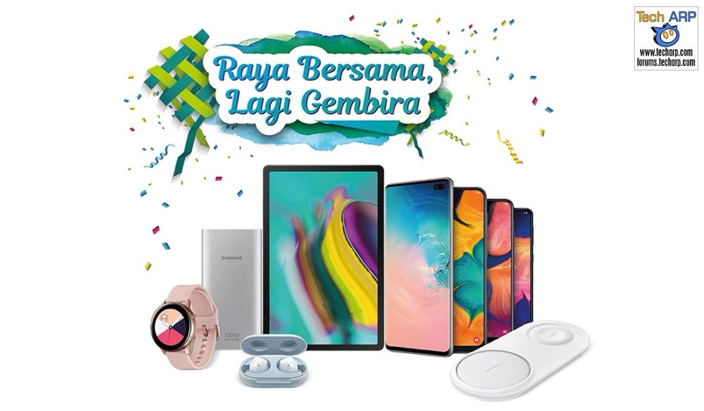 2019 Samsung Mobile Raya Sale - Win Up To RM 332,400!