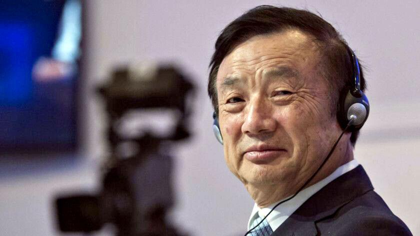 HUAWEI Founder Ren Zhengfei