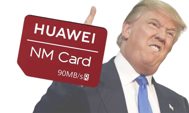 HUAWEI Bypasses SD + microSD Ban With NM Card