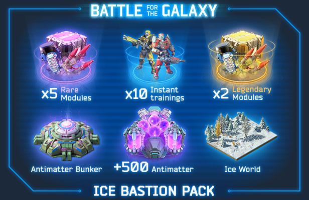 Ice Bastion Pack free