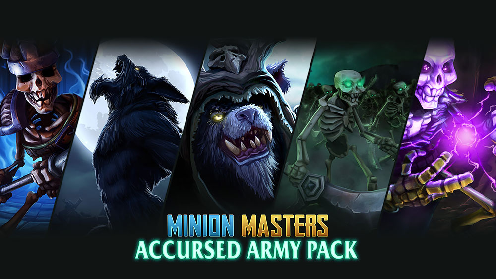 Minion Masters Accursed Army Pack free