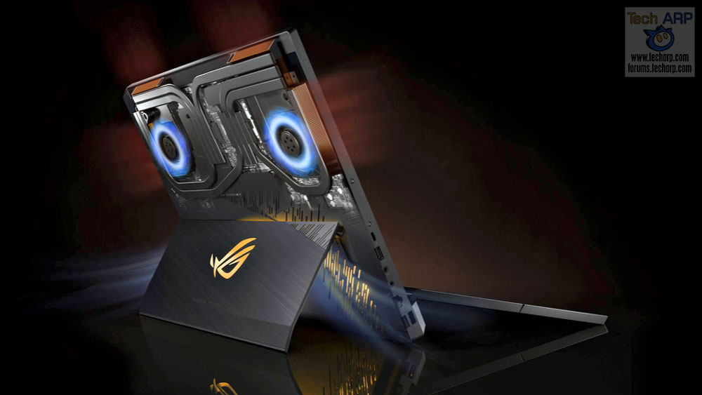 ASUS ROG Mothership cooling