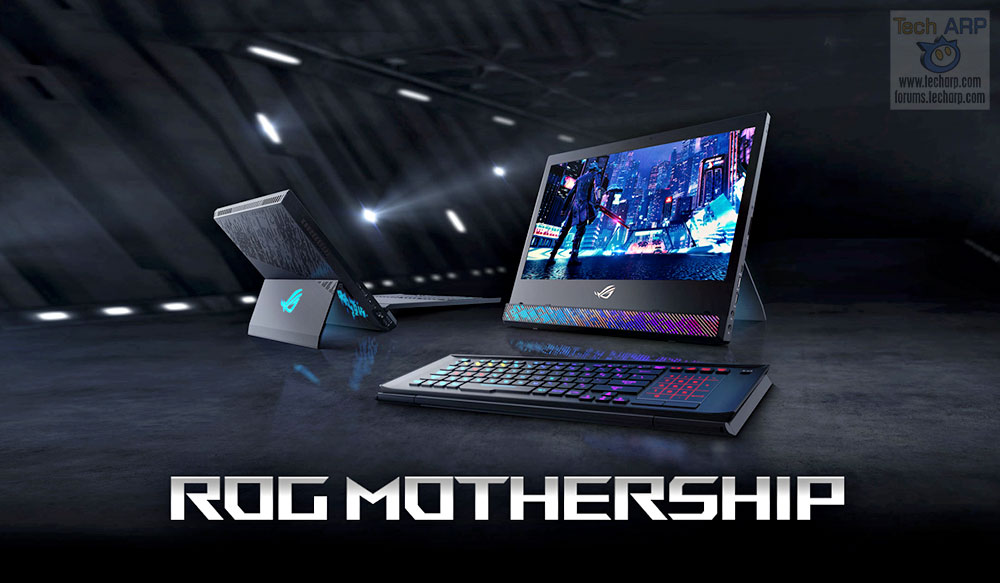 ASUS ROG Mothership Preview - Portable Desktop Gaming