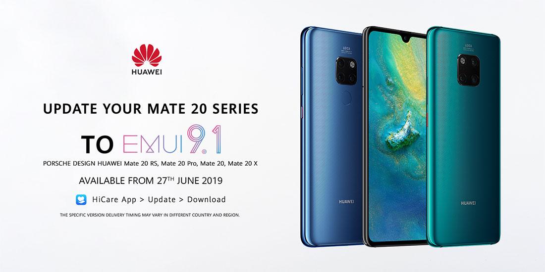 huawei mate 20 pro emui 9.1 belgie latest firmware