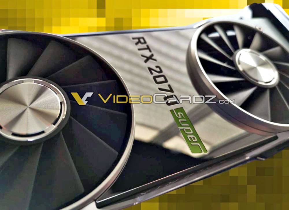 NVIDIA GeForce RTX 2070 Super leaked picture