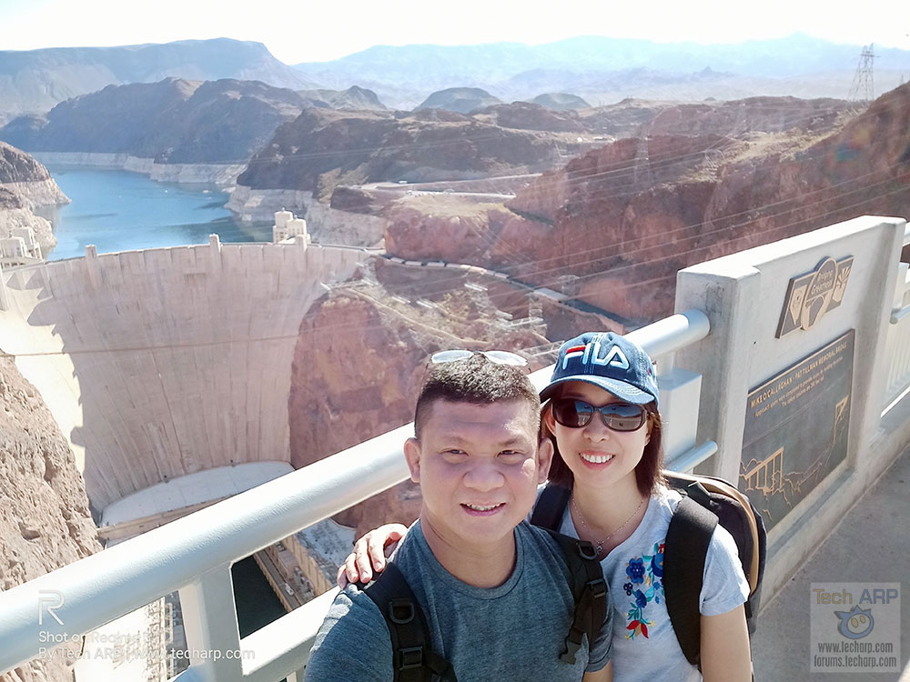 Realme 3 Hoover Dam selfies 01