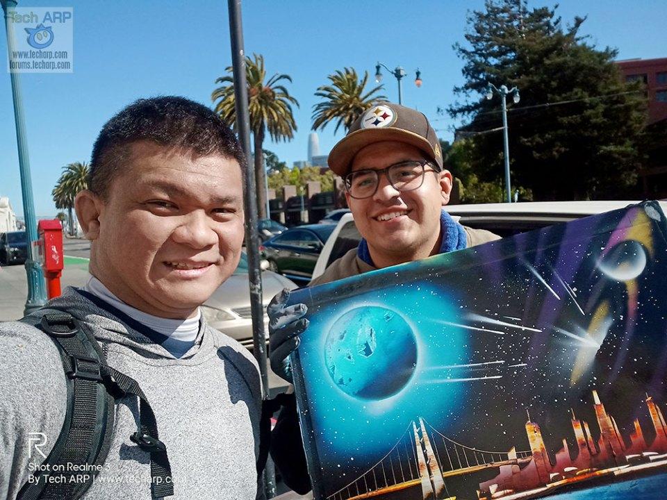Realme 3 San Francisco selfies 01