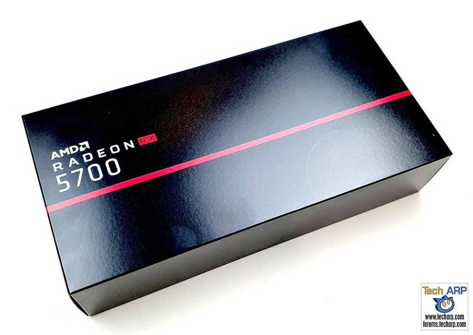 AMD Radeon RX 5700 box