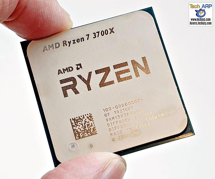 AMD Ryzen 7 3700X CPU top