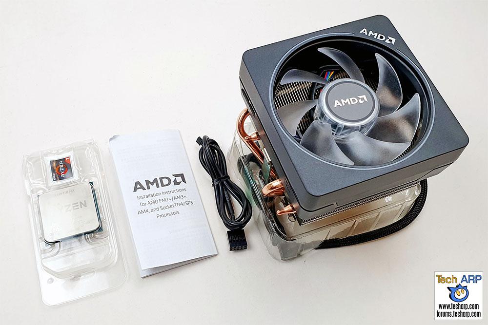 AMD Ryzen 7 3700X box contents