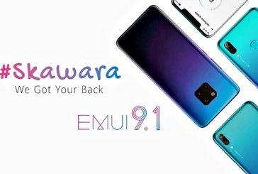 Four More HUAWEI Smartphones To Get EMUI 9.1 Upgrade!