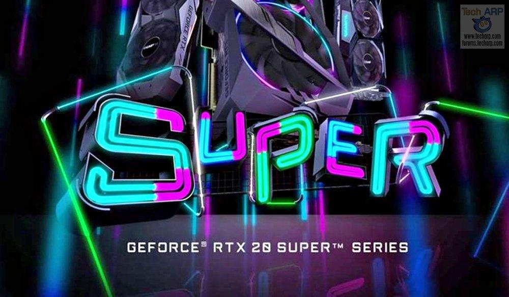 GIGABYTE GeForce RTX Super Graphics Cards Revealed!