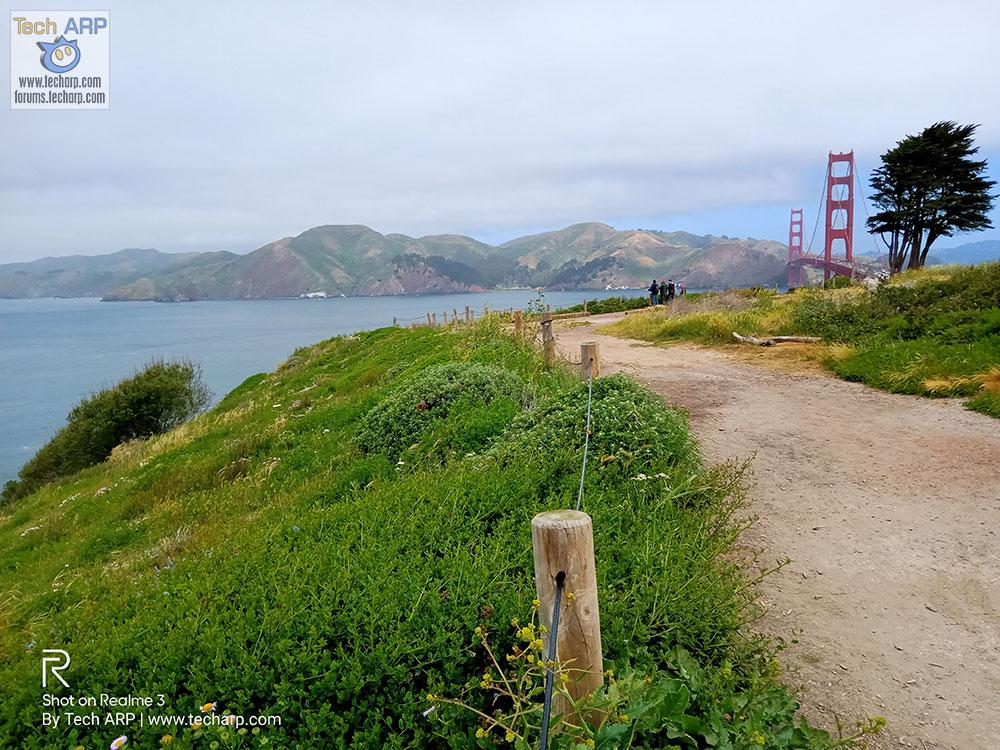 Realme Chroma Boost Golden Gate Bridge sample