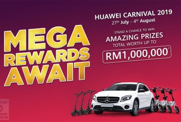 HUAWEI Carnival 2019 - Win Up To RM 1 Million In Prizes!
